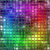 杂色玻璃。无缝的纹理 | 光栅插图