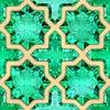Smaragde. Nahtlose Hintergrund | Stock Illustration