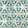 宝石。无缝背景 | 光栅插图