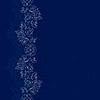Blue silver floral vintage seamless pattern | Stock Vektrografik