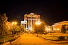 ID 3548479 | Административное здание, ночной пейзаж, город | Фото большого размера | CLIPARTO
