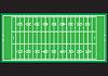 Pole do futbolu amerykańskiego   Stock Vector Graphics
