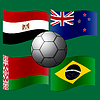 Flagge des Landes