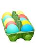 ID 3552638 | Bunte Ostereier im grünen Topf | Foto mit hoher Auflösung | CLIPARTO