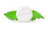 ID 3555039 | Aspiryna z miętą | Foto stockowe wysokiej rozdzielczości | KLIPARTO