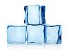 Große Gruppe von Eiswürfeln | Stock Foto