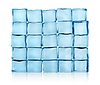 Figures of ice cubes | Stock Foto