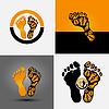 Footprint-Symbol