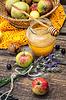 Jabłko i miód | Stock Foto