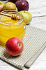Apples and honey | Stock Foto