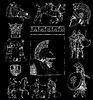 古希腊集插图 | 光栅插图