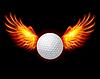 Golf-Fiery Flügeln