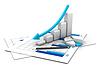 Wykres biznesowych | Stock Illustration