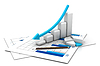 Business graph | Stock Illustration