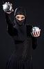 ID 3605039 | Ninja kobieta | Foto stockowe wysokiej rozdzielczości | KLIPARTO