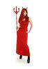 ID 3606497 | Red devil girl in latex boots | Foto stockowe wysokiej rozdzielczości | KLIPARTO