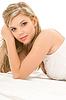 ID 3612262 | Frau in weißen Baumwoll-Unterwäsche | Foto mit hoher Auflösung | CLIPARTO
