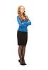 아름다운 비즈니스 여자 | Stock Foto
