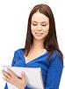 ID 3655628 | Frau mit Notizblock | Foto mit hoher Auflösung | CLIPARTO