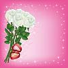 Hochzeit Gruß-und Einladungskarten mit weißen