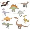 Dinosaur set | Stock Vektrografik
