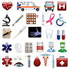 Medical and hospital icons set | Stock Vector Graphics