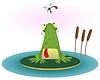Frosch und Mücke