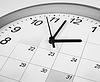 ID 3657155 | Zifferblatt und Kalender. Zeit-Management-Konzept | Foto mit hoher Auflösung | CLIPARTO