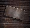 ID 3657209 | Grunge rostige Metallplatte über grid background | Foto mit hoher Auflösung | CLIPARTO