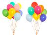 ID 3657218 | Kolorowe grono balony wypełnione helem | Foto stockowe wysokiej rozdzielczości | KLIPARTO