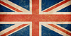 Grunge British flag | Stock Illustration
