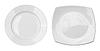 ID 3657386 | Draufsicht von runden und quadratischen Platten Set | Foto mit hoher Auflösung | CLIPARTO