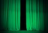 ID 3657533 | Grün oder emerald Vorhang auf Theater oder Kino | Foto mit hoher Auflösung | CLIPARTO