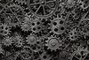 ID 3657988 | Vielen alten rostigen Metall-Getriebe oder Maschinenteile | Foto mit hoher Auflösung | CLIPARTO