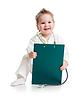 Dziecko lub dziecko gry lekarza z stetoskop i | Stock Foto
