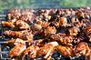 ID 3658953 | Grill lub smażonego kurczaka i mięso wieprzowe | Foto stockowe wysokiej rozdzielczości | KLIPARTO
