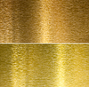 Szczotkowane brązu i mosiądzu szyte tekstury | Stock Foto