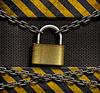 ID 3658998 | Zamkniętej kłódki z łańcuchami i metalu przemysłowych | Foto stockowe wysokiej rozdzielczości | KLIPARTO
