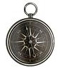 ID 3659018 | Antyczny kompas srebrny z ciemnej twarzy | Foto stockowe wysokiej rozdzielczości | KLIPARTO