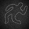 ID 3659287 | Chalk Umrisse toter Körper auf Asphalt | Foto mit hoher Auflösung | CLIPARTO