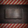 ID 3659327 | Metalowy szablon | Foto stockowe wysokiej rozdzielczości | KLIPARTO