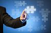ID 3659666 | Strony dotykając abstrakcyjny kawałek układanki biznesmen `s | Foto stockowe wysokiej rozdzielczości | KLIPARTO