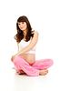 ID 3659686 | Schwangere Frau zu turnen | Foto mit hoher Auflösung | CLIPARTO