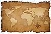 ID 3659709 | Grunge Weltkarte Hintergrund mit rose compass | Illustration mit hoher Auflösung | CLIPARTO
