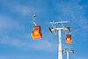 ID 3659958 | Zwei Skilift Seilbahnen | Foto mit hoher Auflösung | CLIPARTO