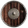 ID 3660147 | Stary drewniany tarcza viking | Foto stockowe wysokiej rozdzielczości | KLIPARTO