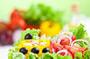 Healthy food fresh vegetable salad | Stock Foto