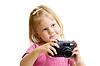 ID 3661009   Kleines Mädchen mit Digitalkamera   Foto mit hoher Auflösung   CLIPARTO