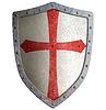 ID 4647029 | Templar or crusader knight`s metal shield | Stockowa ilustracja wysokiej rozdzielczości | KLIPARTO