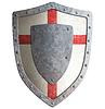 ID 4647031 | Alte Templer Kreuzritter oder Metallabschirmung | Illustration mit hoher Auflösung | CLIPARTO